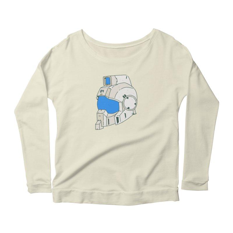 MS Series #04 Women's Scoop Neck Longsleeve T-Shirt by Luis Romero Shop