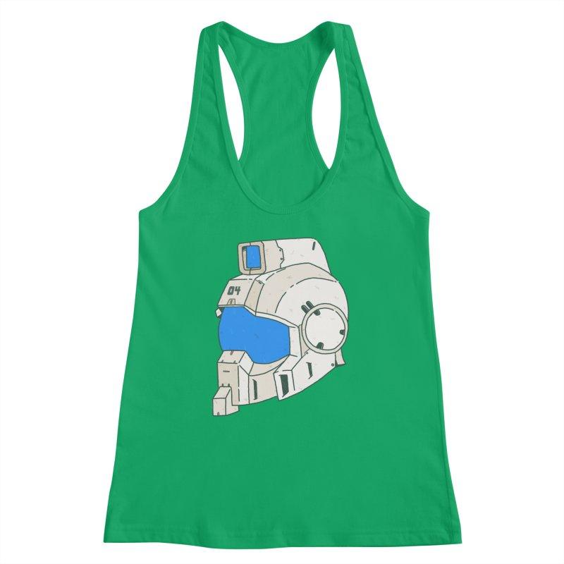MS Series #04 Women's Racerback Tank by Luis Romero Shop