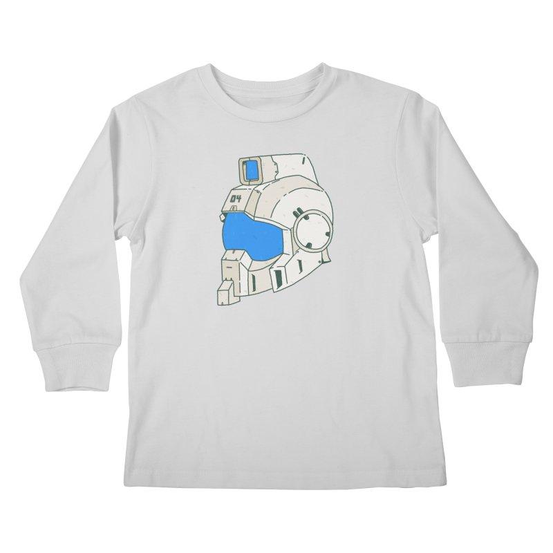 MS Series #04 Kids Longsleeve T-Shirt by Luis Romero Shop