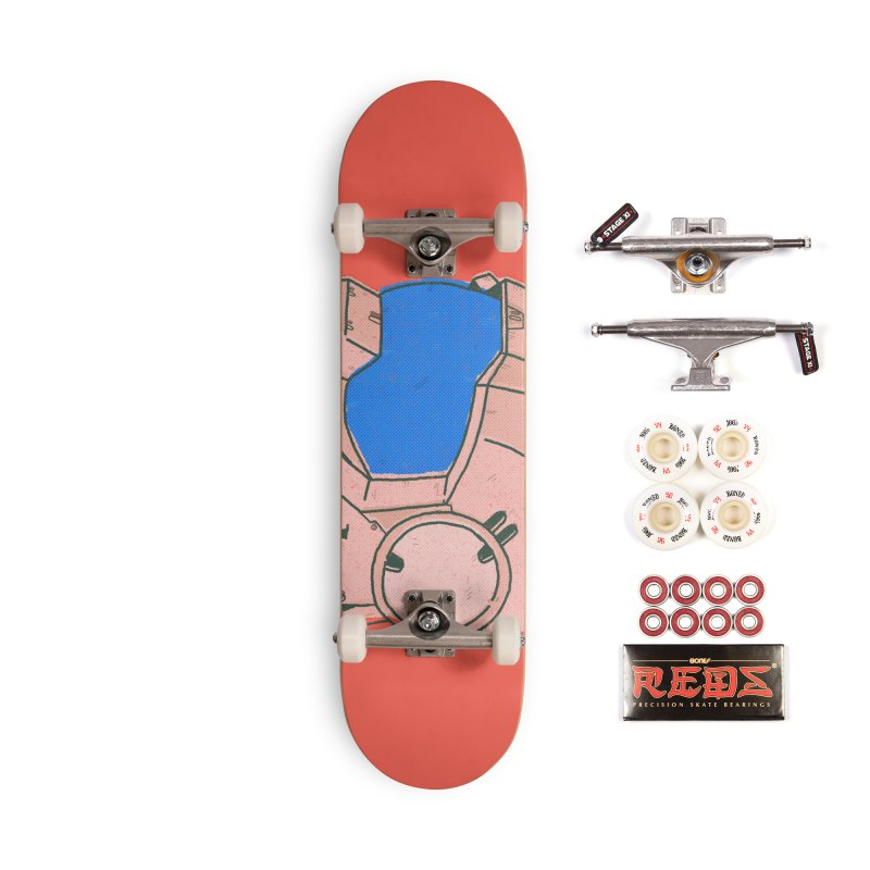 MS Series #04 Accessories Complete - Pro Skateboard by Luis Romero Shop