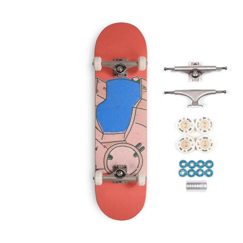 MS Series #04 Accessories Skateboard by Luis Romero Shop