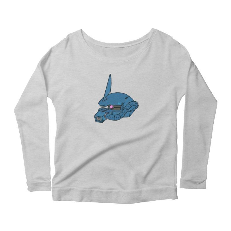 MS Series #05 Women's Scoop Neck Longsleeve T-Shirt by Luis Romero Shop