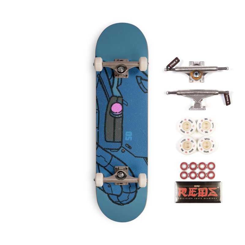 MS Series #05 Accessories Complete - Pro Skateboard by Luis Romero Shop