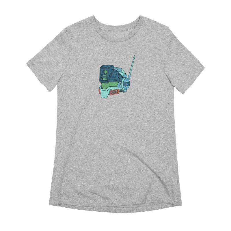 MS Series #06 Women's Extra Soft T-Shirt by Luis Romero Shop