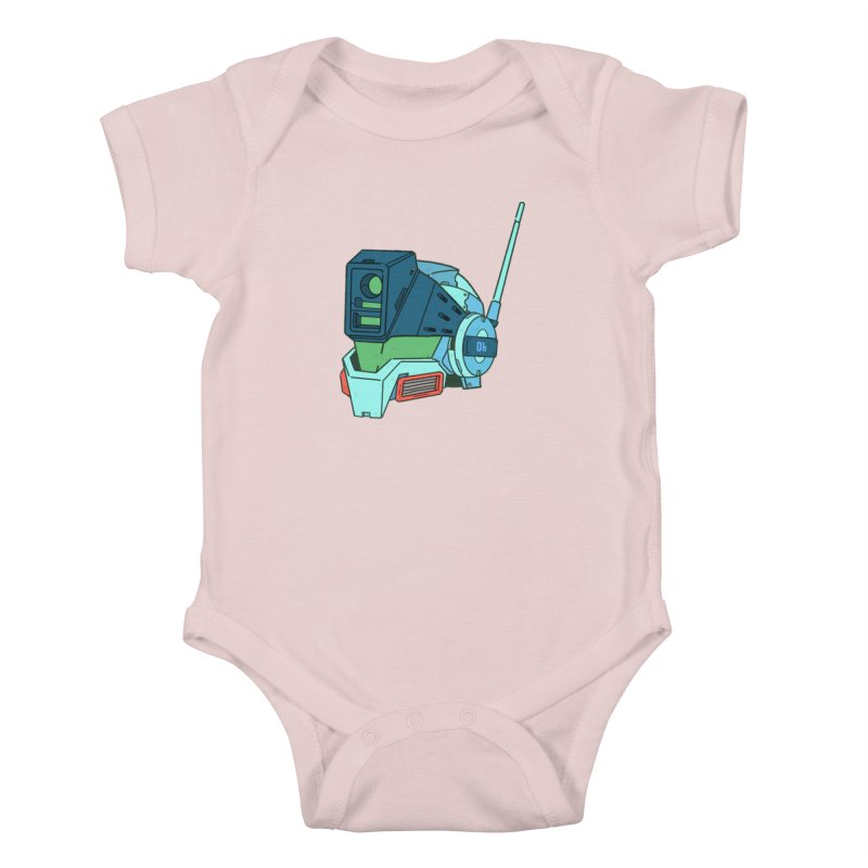 MS Series #06 Kids Baby Bodysuit by Luis Romero Shop