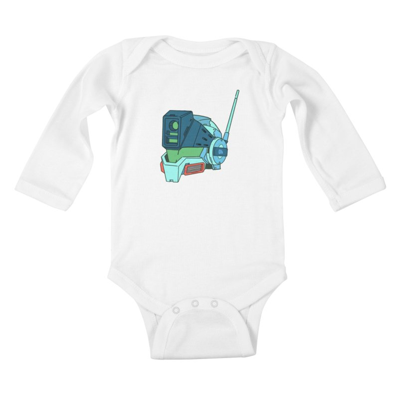 MS Series #06 Kids Baby Longsleeve Bodysuit by Luis Romero Shop