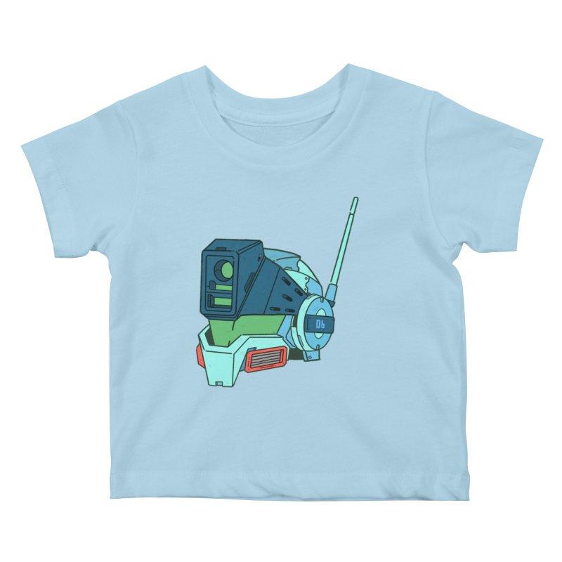 MS Series #06 Kids Baby T-Shirt by Luis Romero Shop