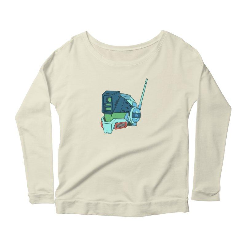 MS Series #06 Women's Scoop Neck Longsleeve T-Shirt by Luis Romero Shop