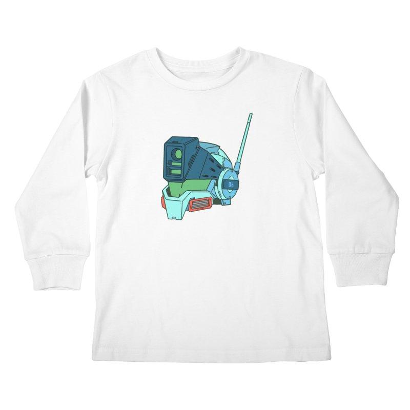 MS Series #06 Kids Longsleeve T-Shirt by Luis Romero Shop