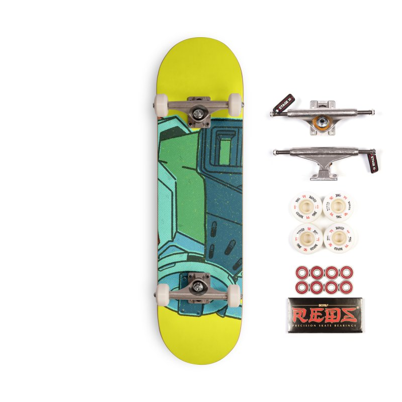 MS Series #06 Accessories Complete - Pro Skateboard by Luis Romero Shop