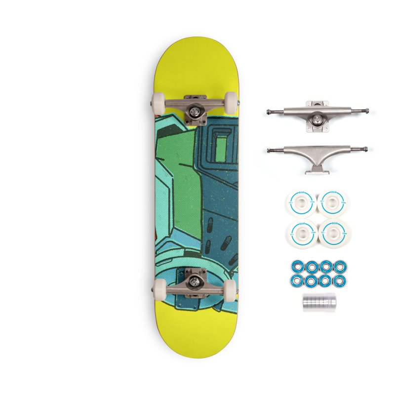 MS Series #06 Accessories Complete - Basic Skateboard by Luis Romero Shop