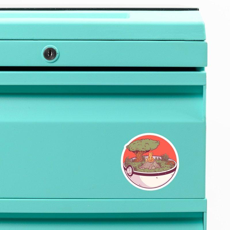 Poke-terrarium Accessories Magnet by Luis Romero Shop
