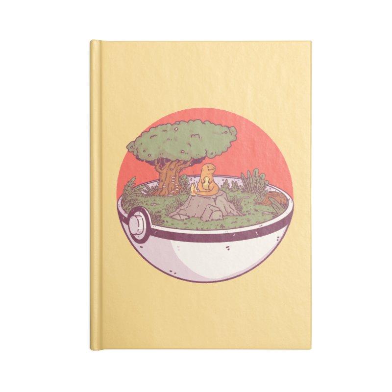 Poke-terrarium Accessories Lined Journal Notebook by Luis Romero Shop
