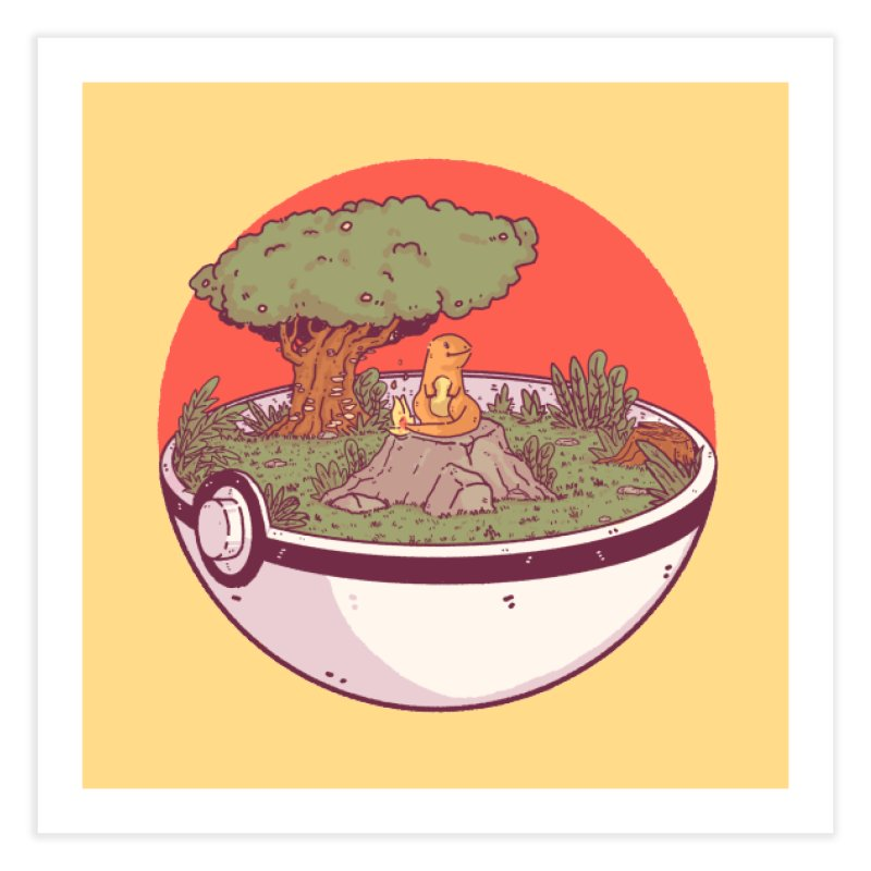 Poke-terrarium in Fine Art Print by Luis Romero Shop