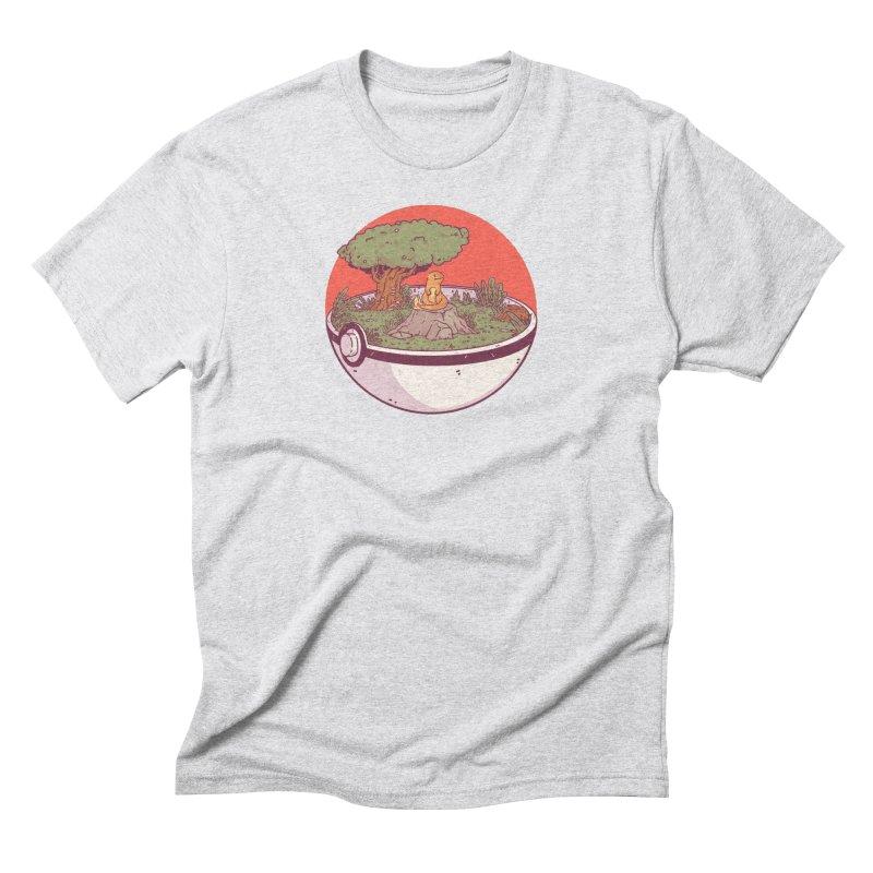 Poke-terrarium Men's Triblend T-Shirt by Luis Romero Shop