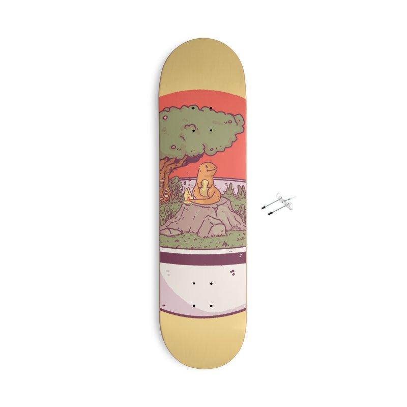 Poke-terrarium Accessories With Hanging Hardware Skateboard by Luis Romero Shop