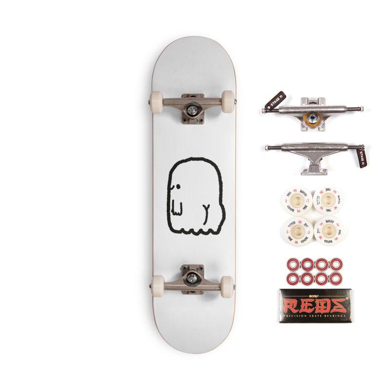 Boo-ty (Black) Accessories Complete - Pro Skateboard by Luis Romero Shop