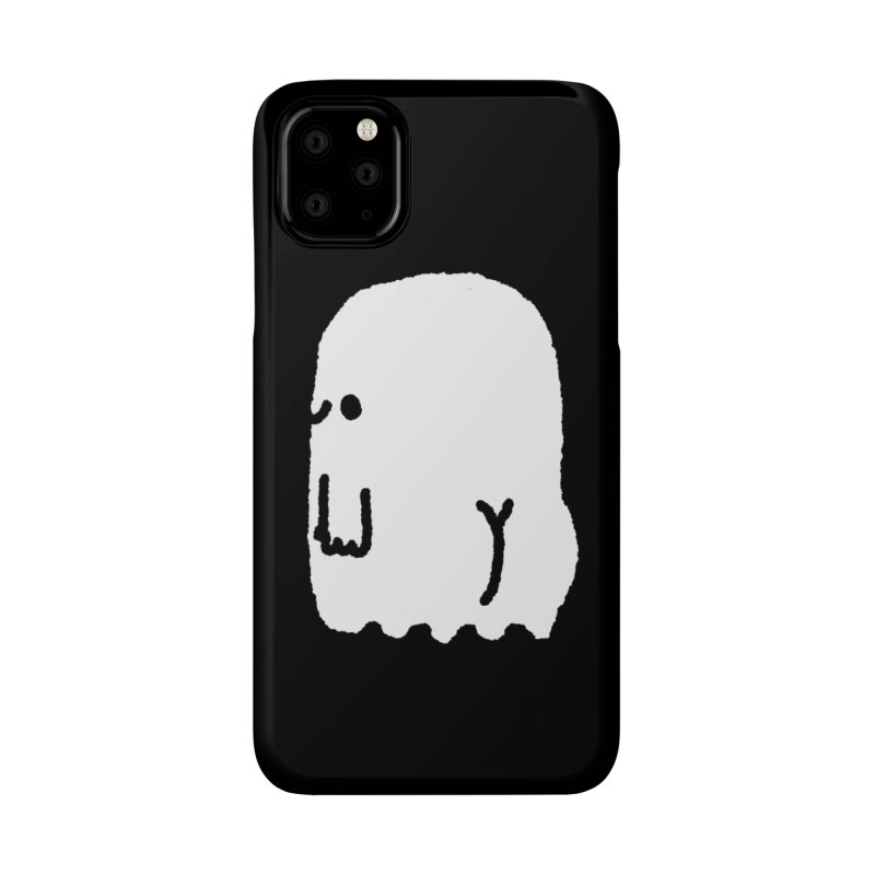 Boo-ty (White) Accessories Phone Case by Luis Romero Shop