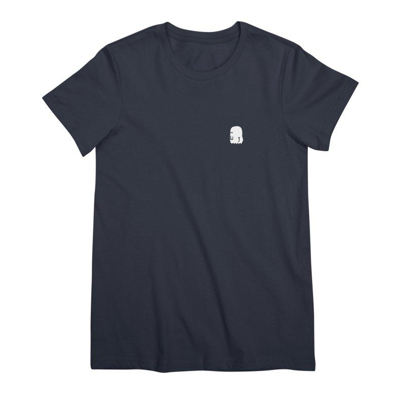 Boo-ty (White) Women's Premium T-Shirt by Luis Romero Shop