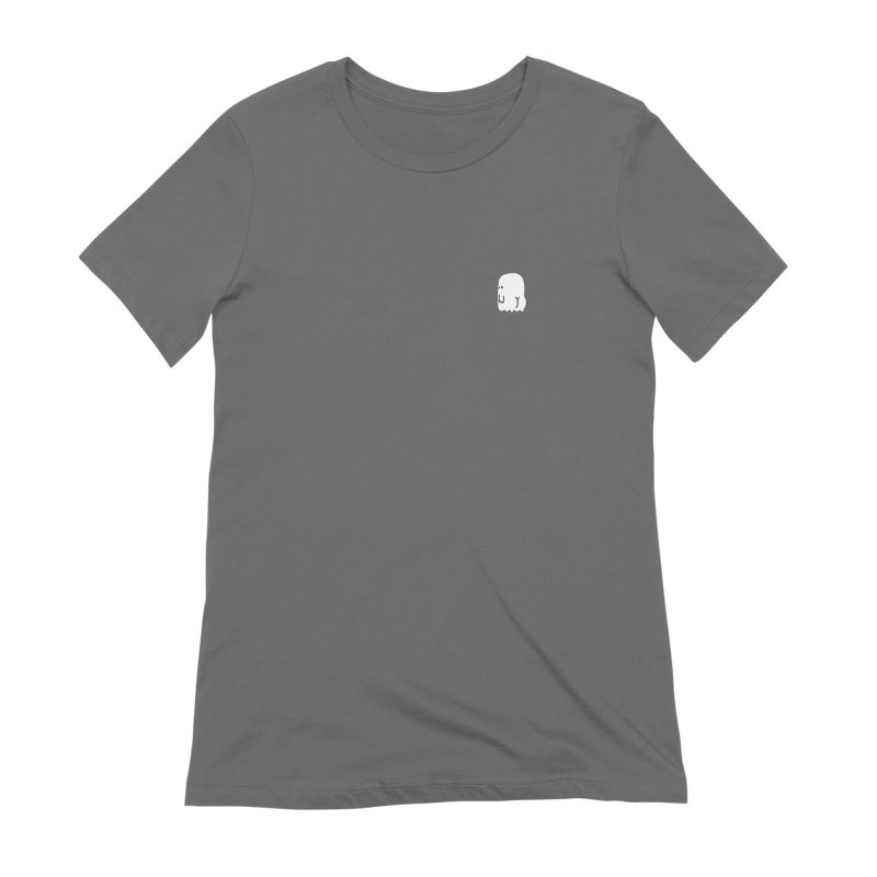 Boo-ty (White) Women's Extra Soft T-Shirt by Luis Romero Shop