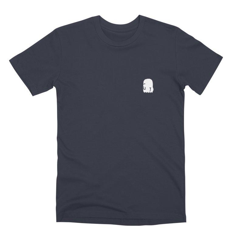 Boo-ty (White) Men's Premium T-Shirt by Luis Romero Shop
