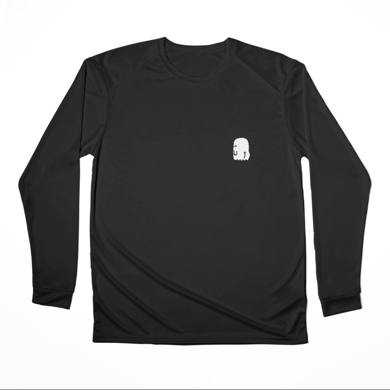 Boo-ty (White) Men's Performance Longsleeve T-Shirt by Luis Romero Shop