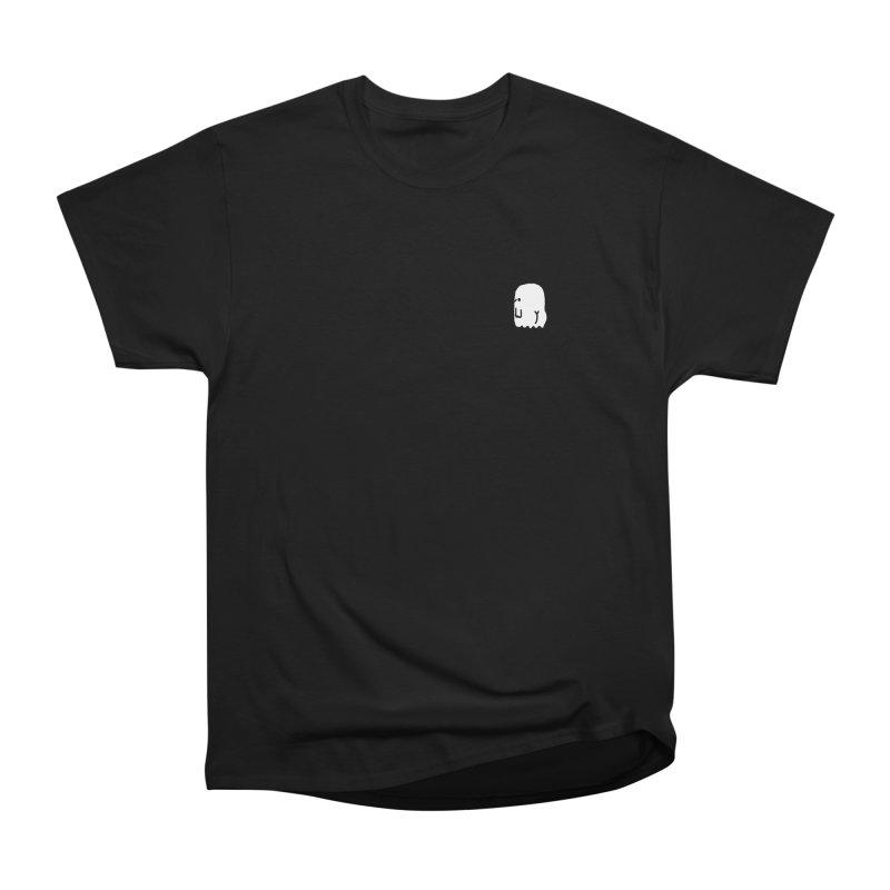 Boo-ty (White) Men's Heavyweight T-Shirt by Luis Romero Shop