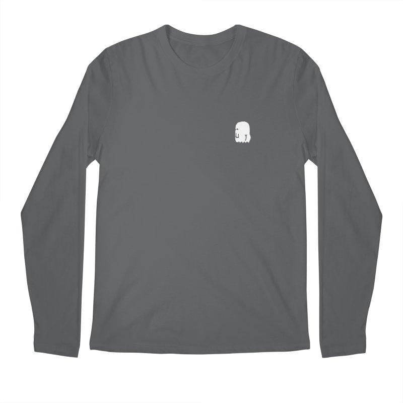 Boo-ty (White) Men's Regular Longsleeve T-Shirt by Luis Romero Shop