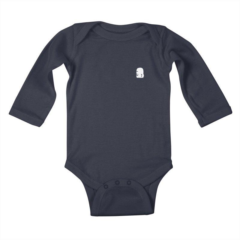 Boo-ty (White) Kids Baby Longsleeve Bodysuit by Luis Romero Shop