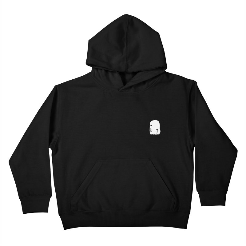 Boo-ty (White) Kids Pullover Hoody by Luis Romero Shop