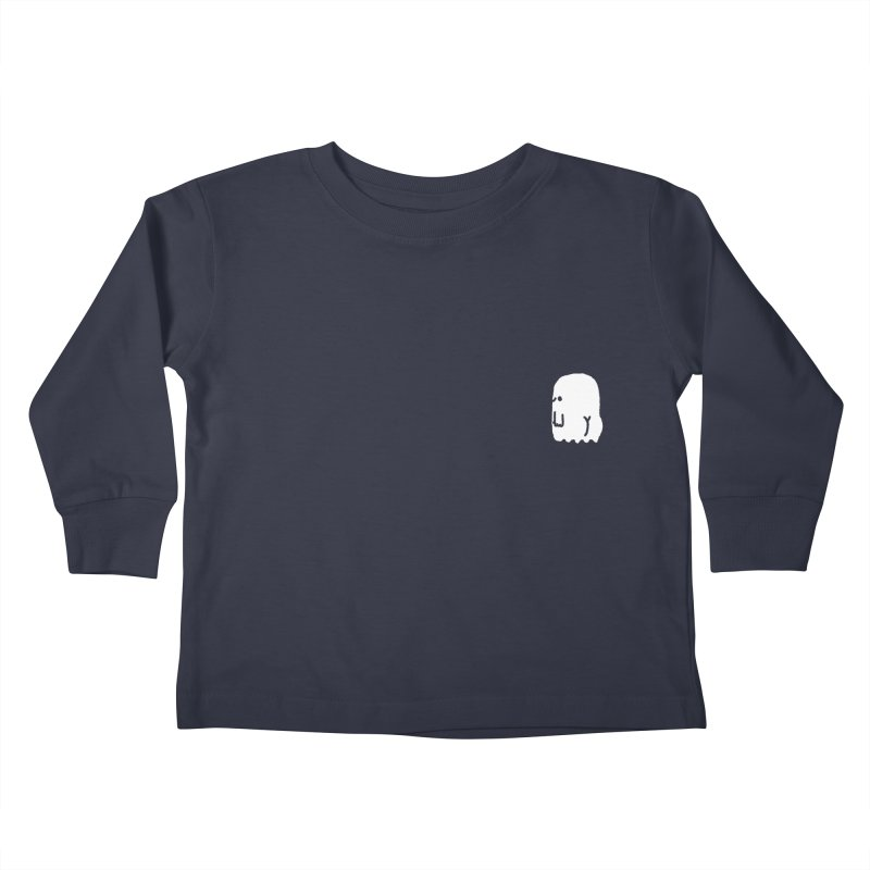 Boo-ty (White) Kids Toddler Longsleeve T-Shirt by Luis Romero Shop
