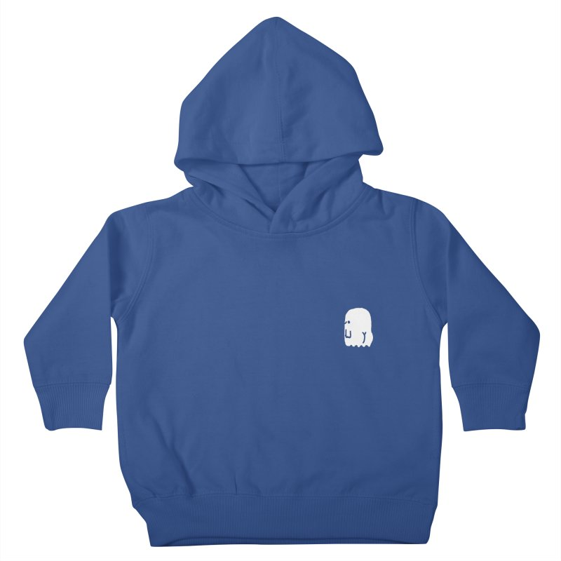 Boo-ty (White) Kids Toddler Pullover Hoody by Luis Romero Shop