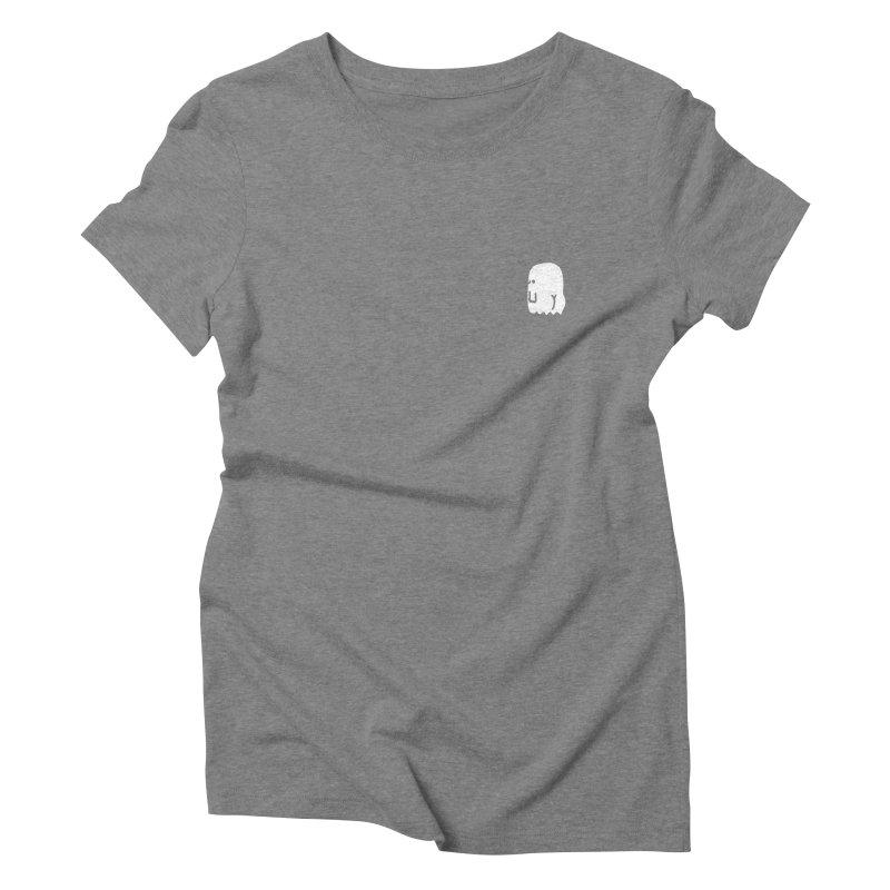 Boo-ty (White) Women's Triblend T-Shirt by Luis Romero Shop
