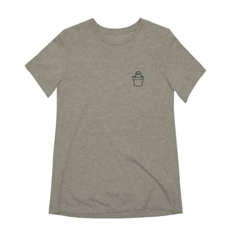 Rest In Pot (Black) Women's Extra Soft T-Shirt by Luis Romero Shop