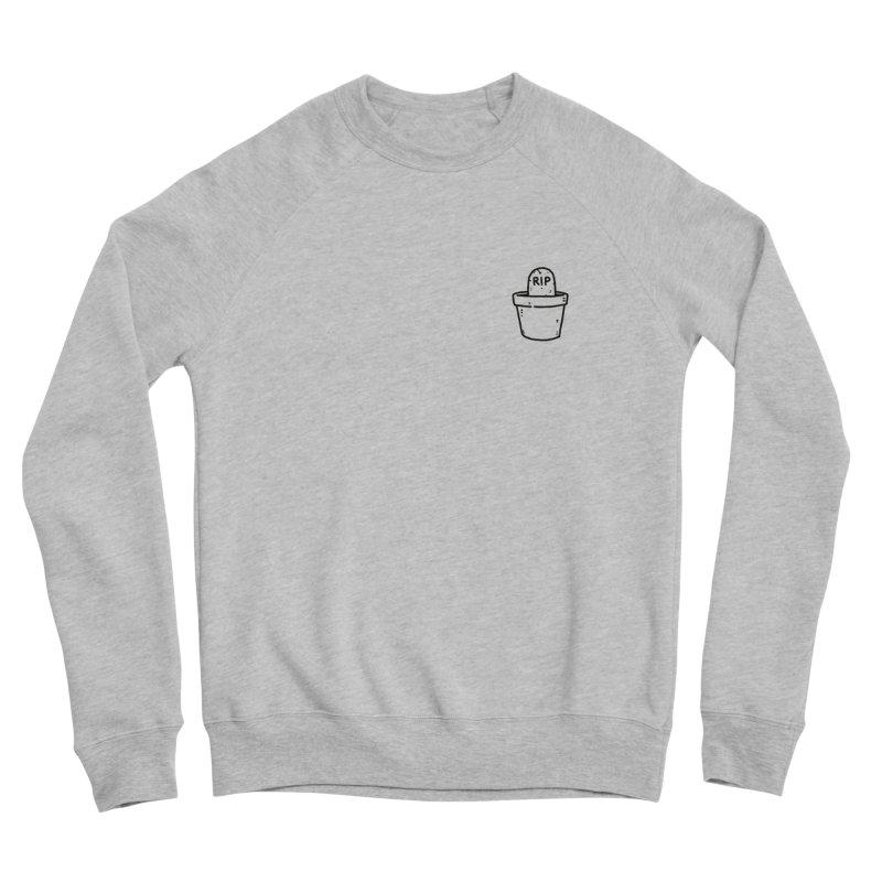 Rest In Pot (Black) Women's Sponge Fleece Sweatshirt by Luis Romero Shop