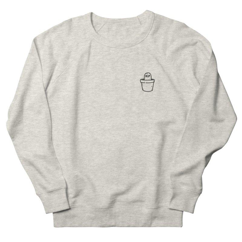 Rest In Pot (Black) Women's French Terry Sweatshirt by Luis Romero Shop