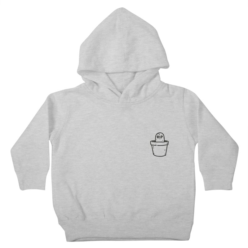 Rest In Pot (Black) Kids Toddler Pullover Hoody by Luis Romero Shop