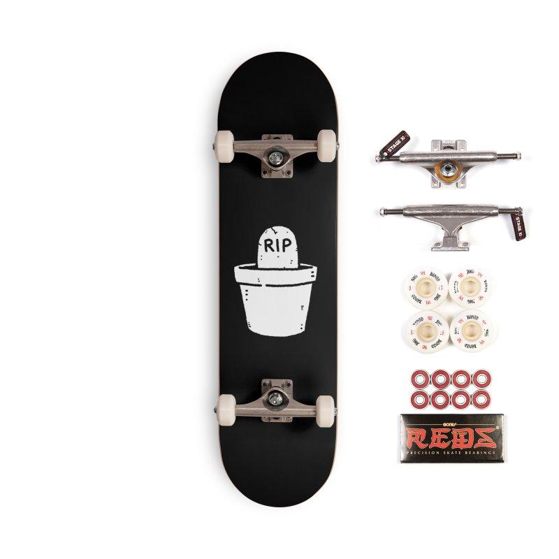 Rest In Pot (White) Accessories Complete - Pro Skateboard by Luis Romero Shop