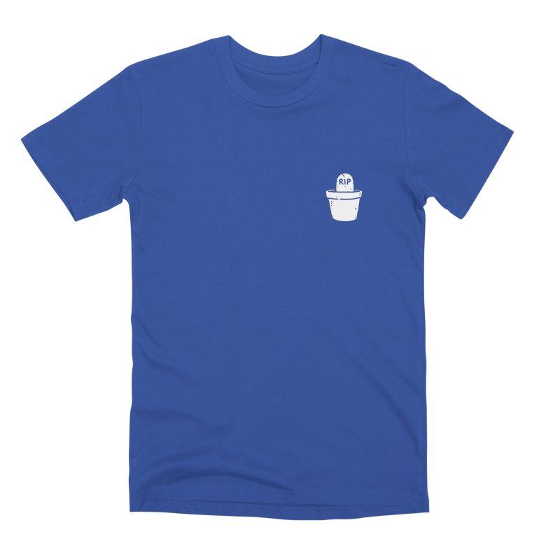 Rest In Pot (White) Men's Premium T-Shirt by Luis Romero Shop