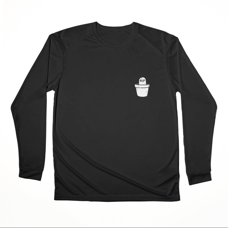 Rest In Pot (White) Men's Performance Longsleeve T-Shirt by Luis Romero Shop