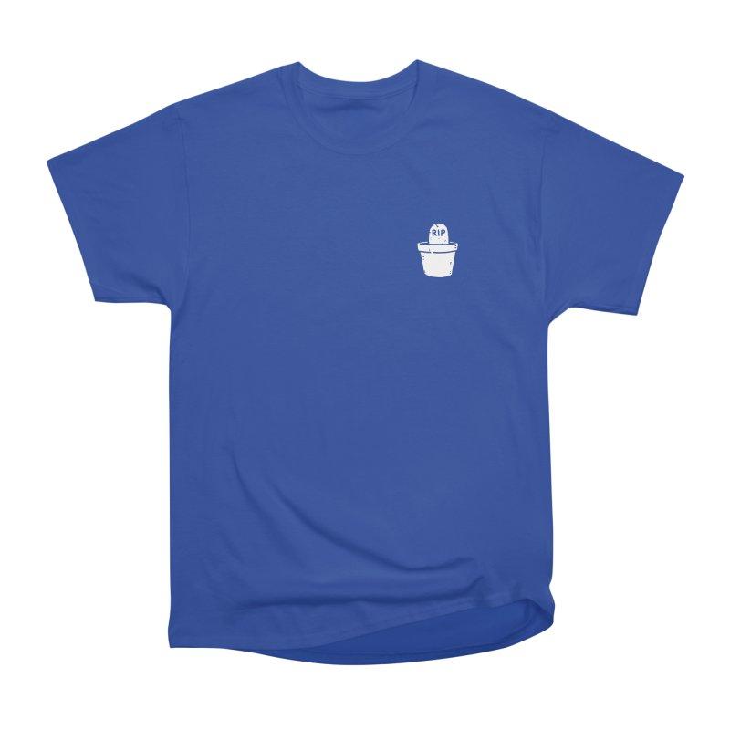 Rest In Pot (White) Women's Heavyweight Unisex T-Shirt by Luis Romero Shop