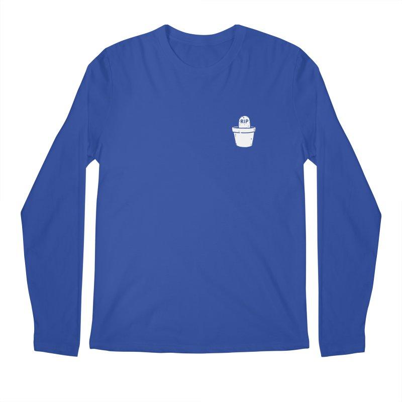 Rest In Pot (White) Men's Regular Longsleeve T-Shirt by Luis Romero Shop