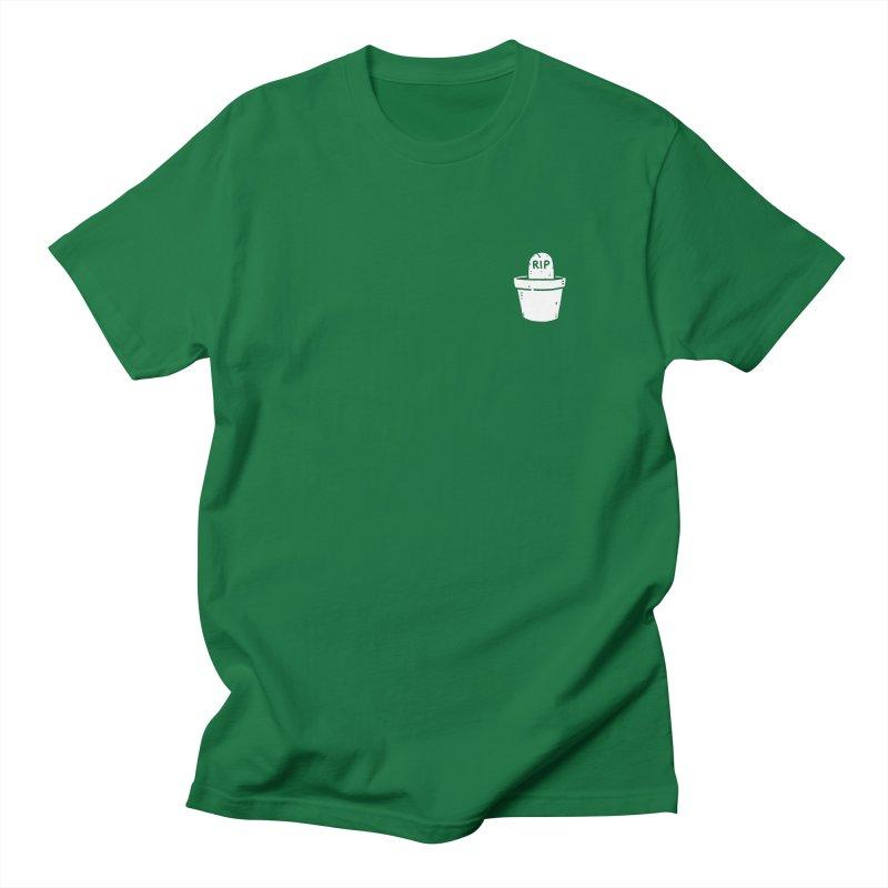 Rest In Pot (White) Men's Regular T-Shirt by Luis Romero Shop