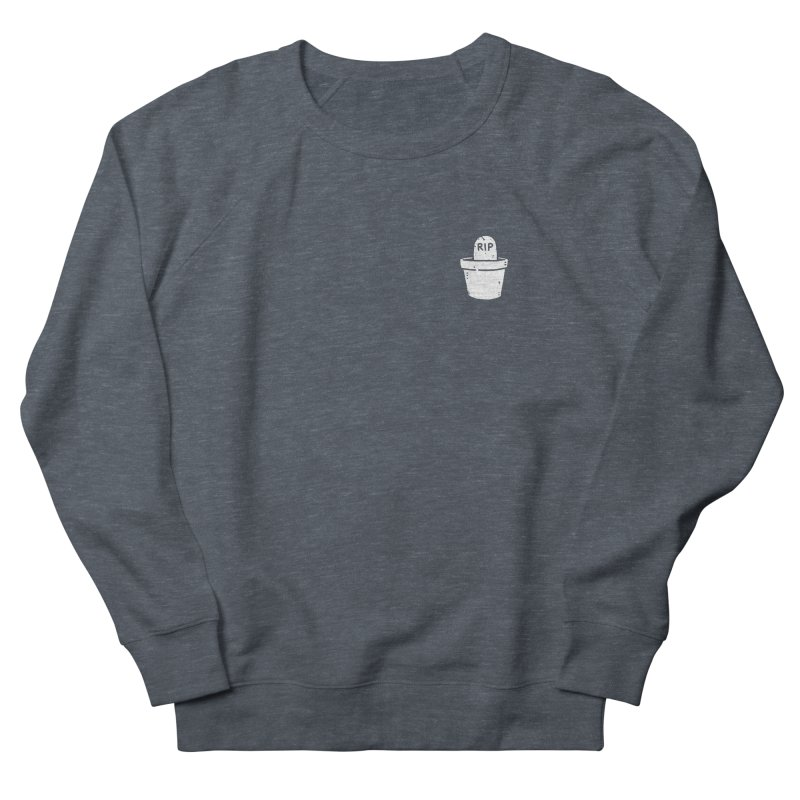 Rest In Pot (White) Men's French Terry Sweatshirt by Luis Romero Shop