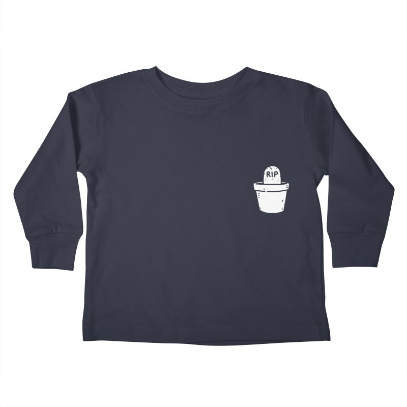 Rest In Pot (White) Kids Toddler Longsleeve T-Shirt by Luis Romero Shop