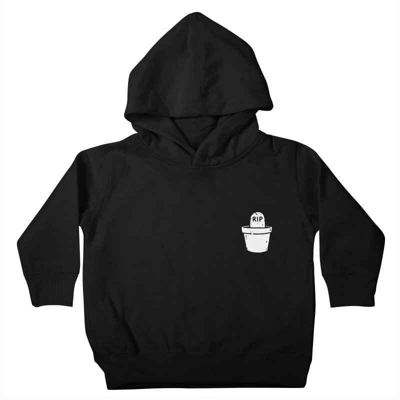 Rest In Pot (White) Kids Toddler Pullover Hoody by Luis Romero Shop