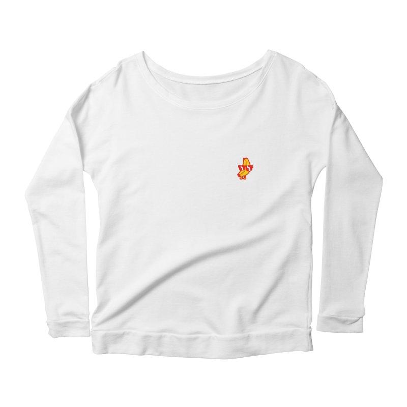 Naner Women's Scoop Neck Longsleeve T-Shirt by Luis Romero Shop