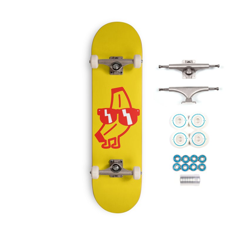 Naner Accessories Complete - Basic Skateboard by Luis Romero Shop