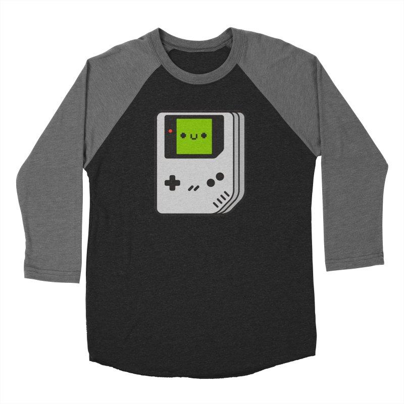 Game Friend Men's Baseball Triblend Longsleeve T-Shirt by Luis Romero Shop