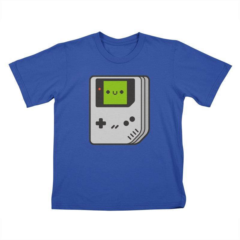 Game Friend Kids T-Shirt by Luis Romero